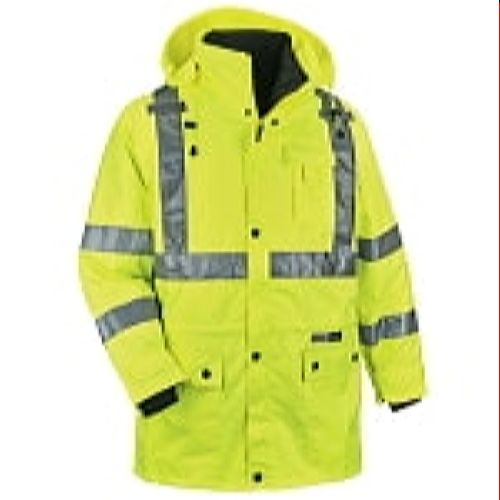 Ergodyne 8385-LIME Green High Visibility Thermal 4-In-1 Jacket