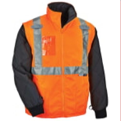 Ergodyne GloWear® 8287 Type R Class 2 Convertible Thermal Jacket - Orange