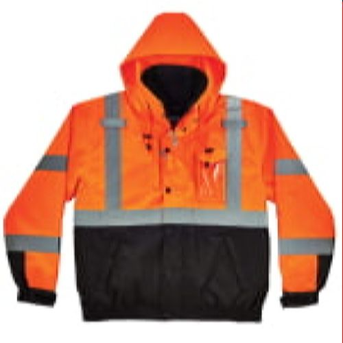 Ergodyne GloWear® 8381 Type R Class 3 Performance 3-in-1 Bomber Jacket - Orange