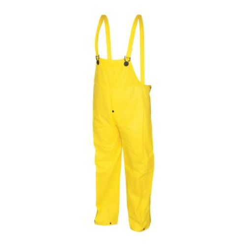 MCR Safety 300BP Wizard, .28mm, PVC/Nylon/PVC, Limited Flammability Yellow 1 Pc Coverall