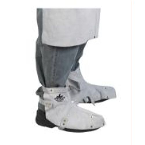 MCR River City 38505MW Memphis Welding Leather Shoe Protector Gray