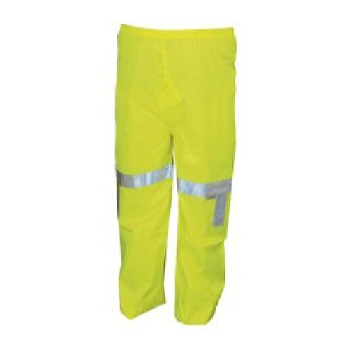 MCR Safety 500RPW Poly/Pu, Class III, green Waist Pant Lime 1 Pc Waist Pant
