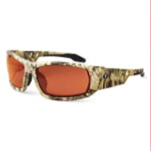 Ergodyne 50321 ODIN Skullerz® Odin Safety Glasses - Polarized Copper Lens