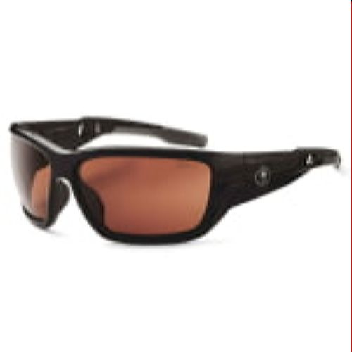 Ergodyne 57021 BALDR Skullerz® Baldr Safety Glasses - Polarized Copper Lens
