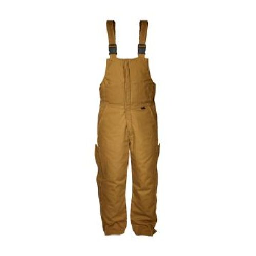 MCR Safety BP4TS FR Insulated Bib Overall Tan Duck