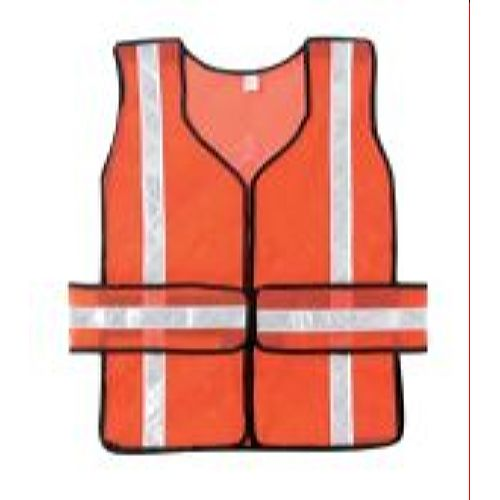 MCR River City CHEV2OT Non-Rated Vest, Break Away, Polyester Mesh, Chevron pattern    1 3/8