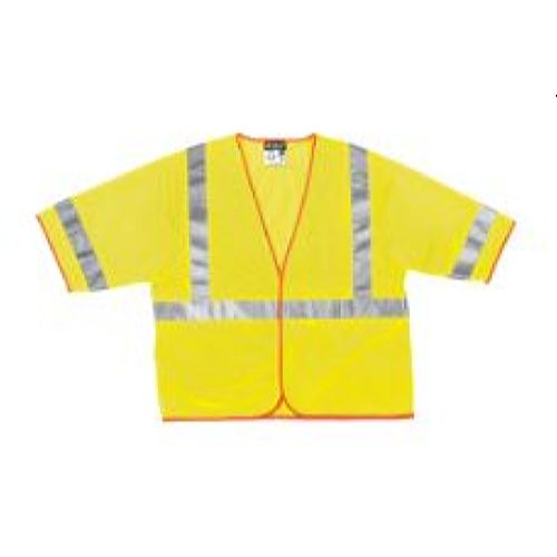 MCR Safety CL3ML Class 3,  Mesh Vest, 2
