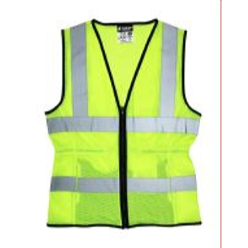 MCR Safety LVCL2ML Ladies, Class 2 Vest, Mesh,   Lime