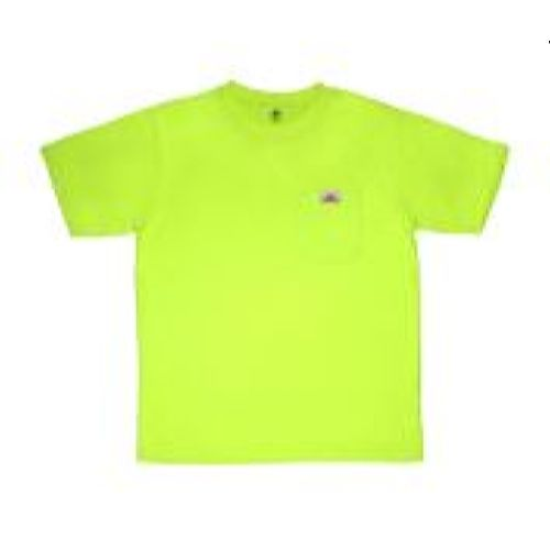 MCR Safety STSL Non Ansi, T-Shirt, Jersey Knit Lime