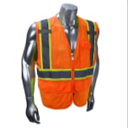 RADIANS SV272-2ZOM Multi-Purpose Surveyor Class 2 Safety Vest-Orange