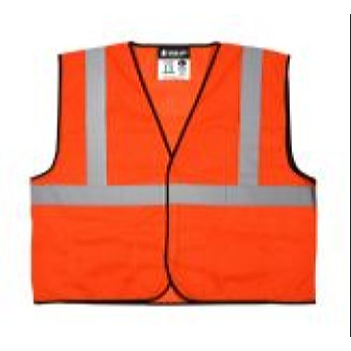 MCR River City VCL2MO Class 2, Mesh, Economy Vest, Orange