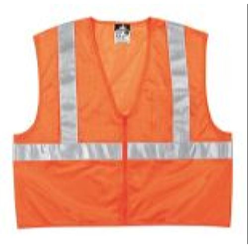 MCR Safety VCL2MOP Value Class 2, 2 pockets,  Orange Safety Vests