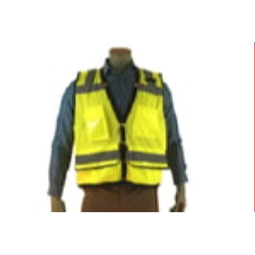 Indian River VG300 Class 2 Heavy Duty Surveyor Vest HiViz Green