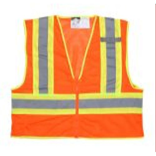 MCR Safety WCCL2OFR Mesh Safety Vest, Limited Flammability, 4 1/2