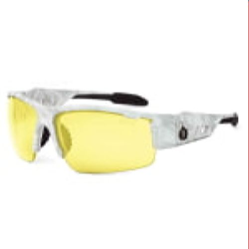 Ergodyne 52650 DAGR Skullerz® Dagr Safety Glasses - Yellow Lens