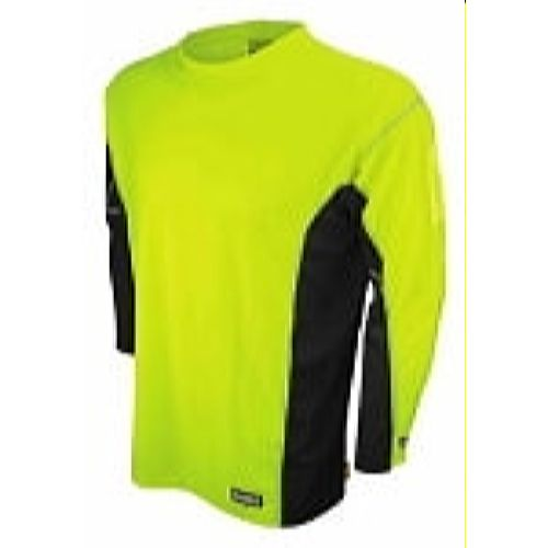DEWALT DST21 Two Tone Long Sleeve Non-Rated T-Shirt - Green