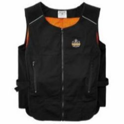 Ergodyne Chill-Its® 6255 Lightweight Phase Change Cooling Vest - Vest Only - Black