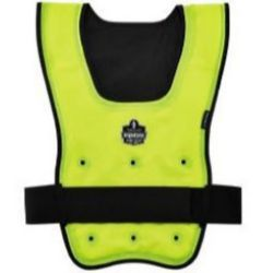 Ergodyne Chill-Its® 6687 Economy Dry Evaporative Cooling Vest - Lime