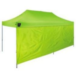 Ergodyne Shax® 6097 Pop-Up Tent Sidewalls - 10ft x 20ft / 3m x 6m - Lime
