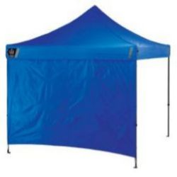 Ergodyne SHAX® 6098 Pop-Up Tent Sidewalls - 10ft x 10ft / 3m x 3m - Blue
