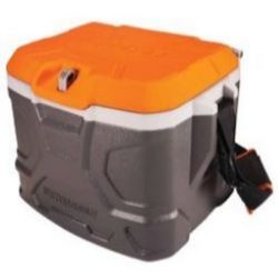 Ergodyne Chill-Its® 5170 Industrial Hard Sided Cooler - 17 Quart - Orange & Gray [Pallet of 30]