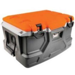 Ergodyne Chill-Its® 5171 Industrial Hard Sided Cooler - 48 Quart - Orange & Gray [Pallet of 30]