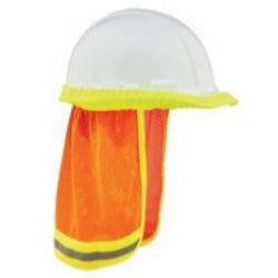 Ergodyne GloWear® 8005 Hi-Vis Mesh Neck Shade w/ Reflective - Orange