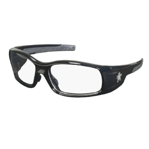 MCR Safety SR110 Swagger SR1 Black Frame, Clear Lenses