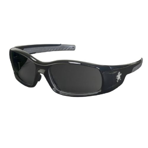 MCR Safety SR112Z Swagger SR1 Black Frame, Gray Polarized
