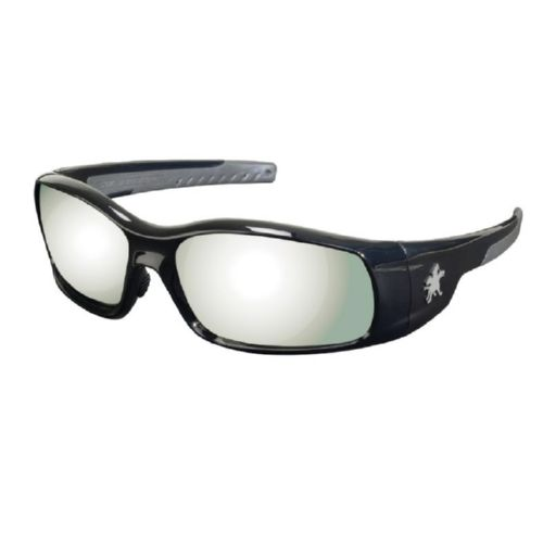 MCR Safety SR117 Swagger SR1 Black Frame, Silver Mirror
