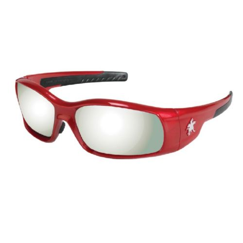 MCR Safety SR137 Swagger SR1 Red Frame, Silver Mirror