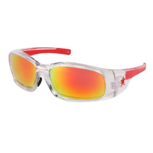 MCR Safety SR14R Swagger SR1 Clear Frame, Fire Mirror