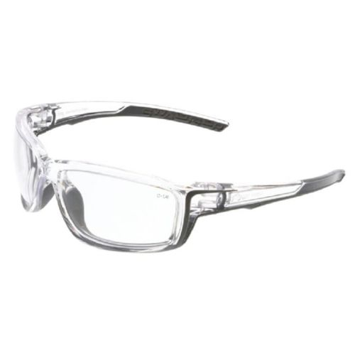 MCR Safety SR410 Swagger SR4 Clear Frame, Clear Lenses