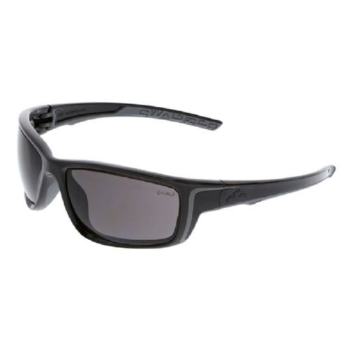 MCR Safety SR422PF Swagger SR4 Black Frame, Gray MAX6