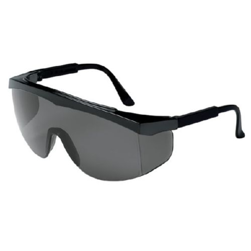 MCR Safety SS112 SS1 Black Frame, Gray Lens