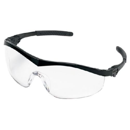 MCR Safety ST110 ST1 Black Frame, Clear Lens