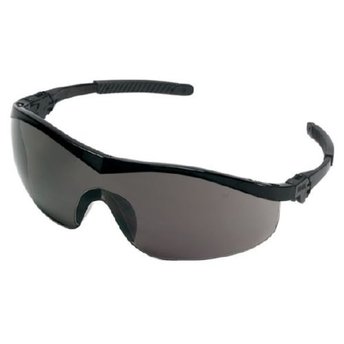 MCR Safety ST112 ST1 Black Frame, Gray Lens