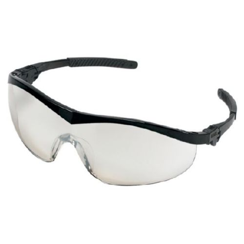 MCR Safety ST119 ST1 Black Frame, I/O Clear Mirror Lens