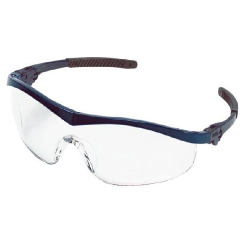 MCR Safety ST120 ST1 Navy Frame, Clear Lens
