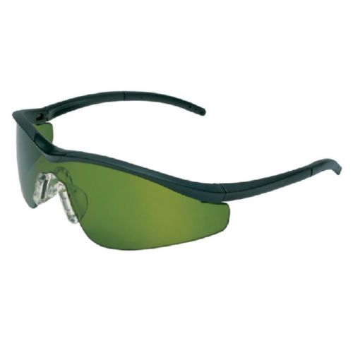 MCR Safety T11130 T1 Onyx Frame, Filter 3.0 Green Lens