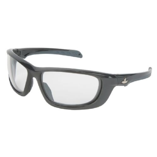 MCR Safety UD110PF UD1 Gun Metal Frame, Clear MAX6 Lenses