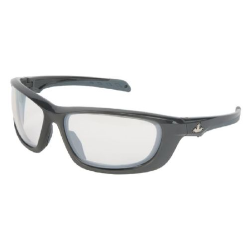 MCR Safety UD119 UD1 Gun Metal Frame, I/O Clear Mirror