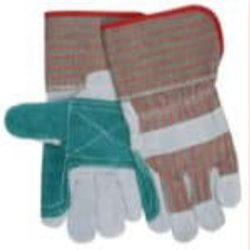 MCR Safety 1201DP Cowhide Leather with Double Palm glove - Size: Small