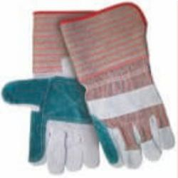 MCR Safety 1212 Cowhide Leather with Double Palm glove - Size: Large