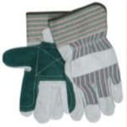 MCR Safety 1230DP Cowhide Leather with Double Palm glove - Size: Large