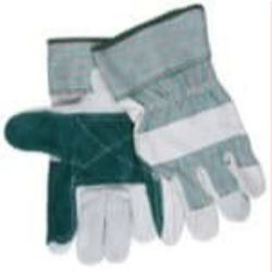 MCR Safety 1361 Cowhide Leather with Double Palm glove - Size: Large