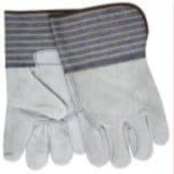 MCR Safety 1418A Cowhide Leather glove - Size: Large