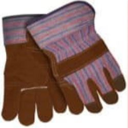 MCR Safety 1455C Cowhide Leather glove - Size: Large