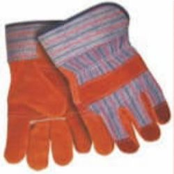 MCR Safety 1455R Cowhide Leather glove - Size: Large