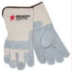 MCR Safety 16011 Cowhide Leather Heat Resistant glove - Size: Large